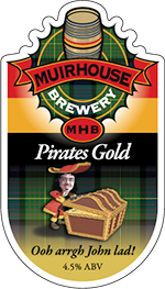 Pirates Gold pump clip